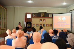 Sertijab Kepala Sekolah SMP dan SMA Angkasa Lanud Adisutjipto