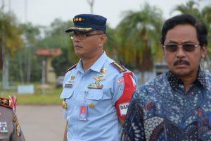 Komandan Lanud Rhf Sambut Kedatangan Wapres RI Jusuf Kalla di Batam