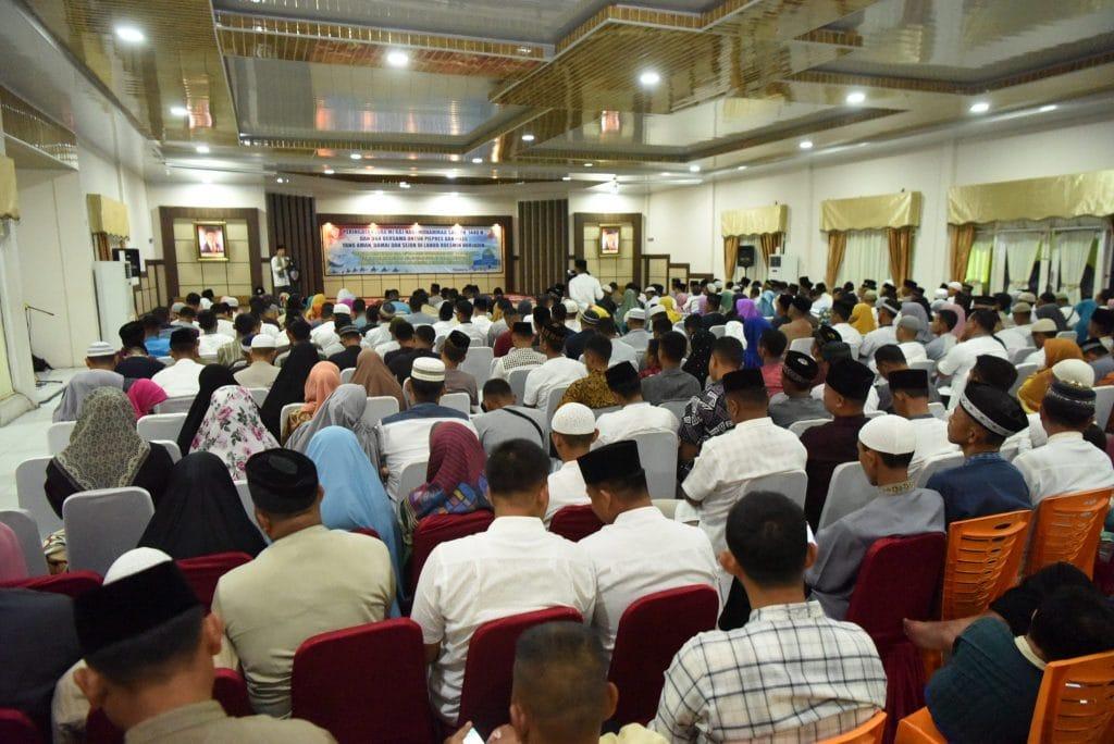 Lanud Rsn Peringati Isra Mi'raj dan Doa Bersama untuk Pilpres dan Pileg