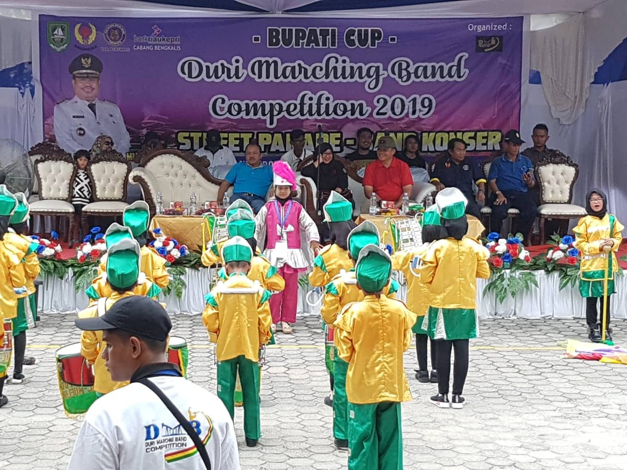 Danlanud Rsn Buka Bupati Cup Duri Marching Band Competition 2019