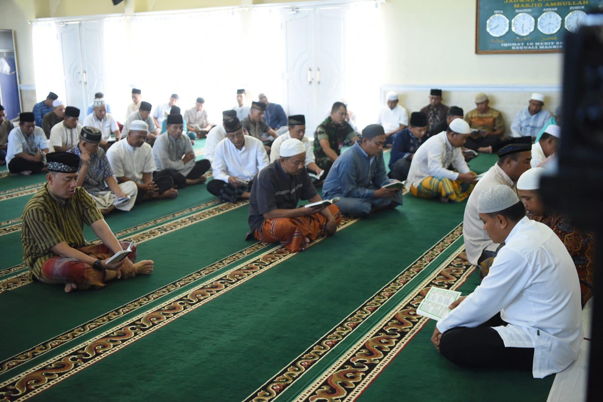 Lanud Rsn Laksanakan Doa Bersama Untuk Kesuksesan Bulan Dirgantara Indonesia