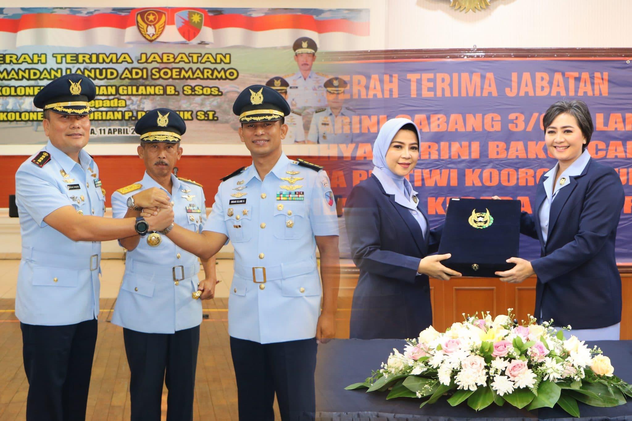 Kolonel Pnb Adrian Damanik Jabat Komandan Lanud Adi Soemarmo