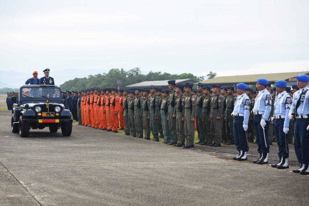 TNI AU Siap Laksanakan Tugas Berlandaskan Jiwa Profesional, Militan, Inovatif dan Kemanunggalan bersama Rakyat