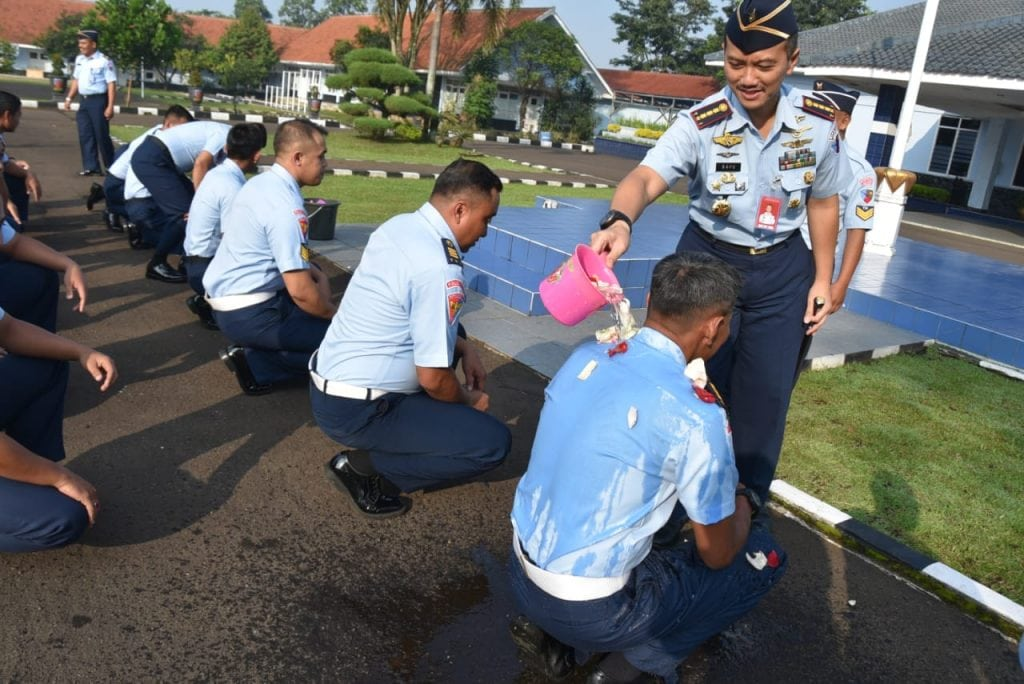 28 Personel Lanud Husein Naik Pangkat