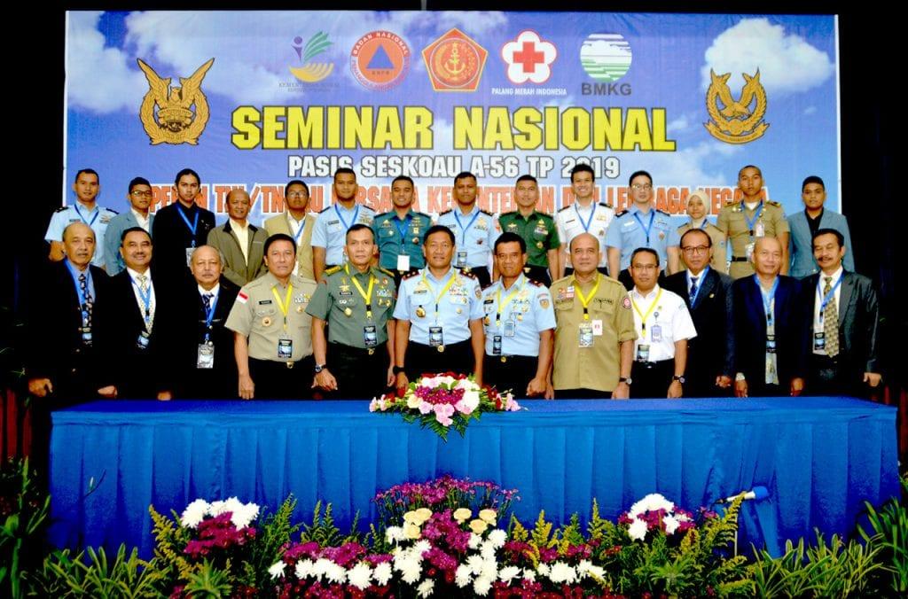Pasis Seskoau A-56 Sukses Gelar Seminar Nasional