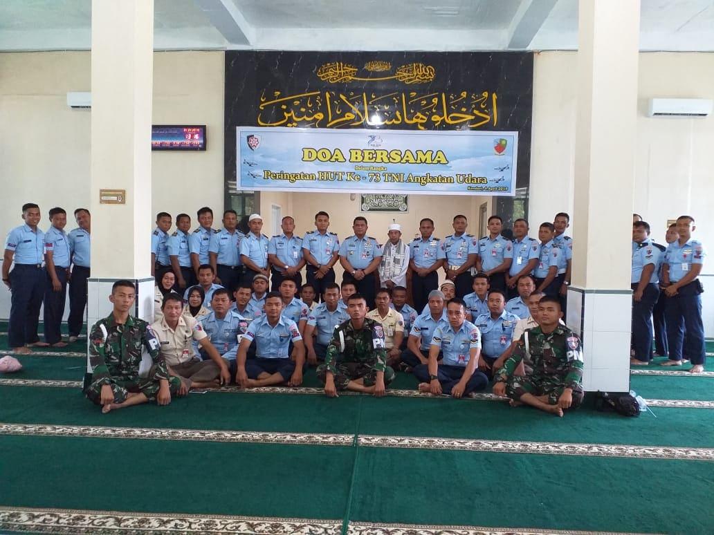 Jelang HUT ke-73 TNI AU, Lanud Haluoleo Do'a Bersama