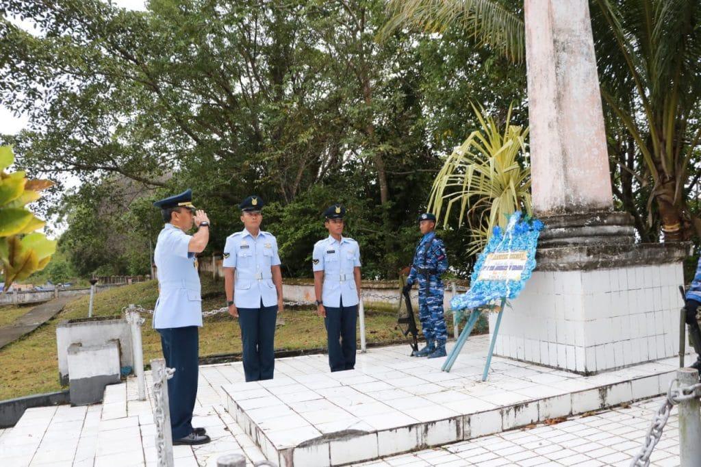 Segenap Personel TNI Wilayah Biak Numfor Laksanakan Ziarah Bersama