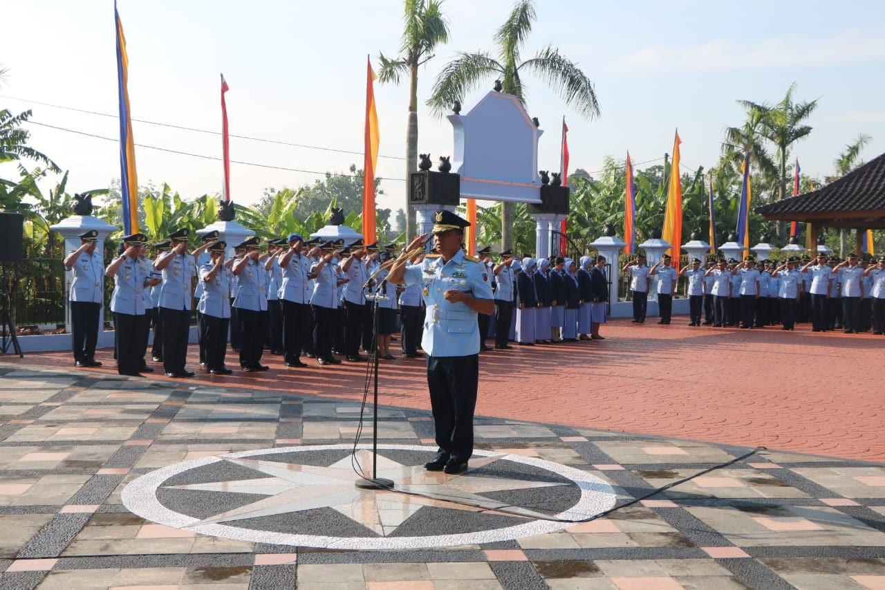 Danlanud Adisutjipto Pimpin Ziarah  HUT Ke-73 TNI Angkatan Udara di Ngoto