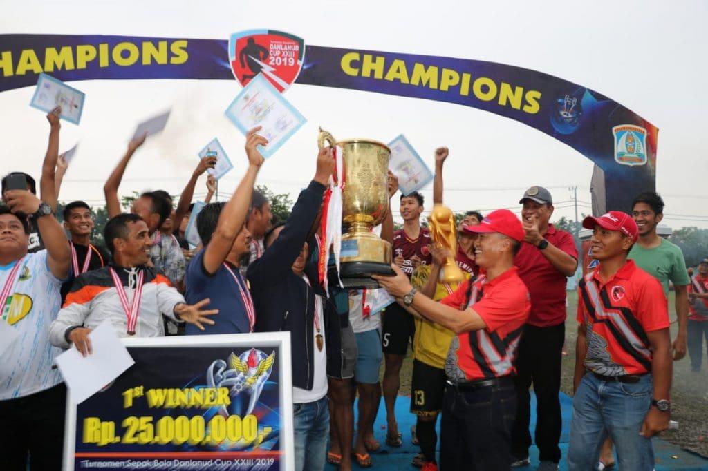 Danlanud Dhomber Cup ke XXIII Lahirkan Juara Baru