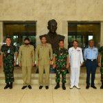 Tingkatkan Persahabatan, Delegasi NDU Pakistan Kunjungi Mabesau