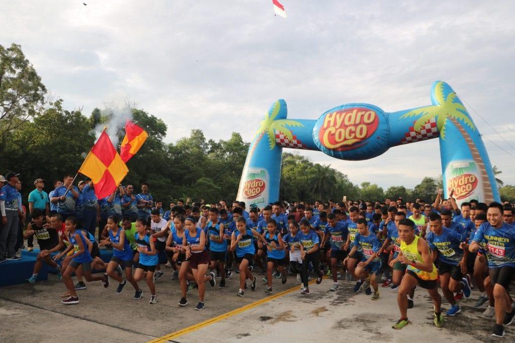Ribuan Pelari Meriahkan Air Force Run 2019 Lanud Rsn