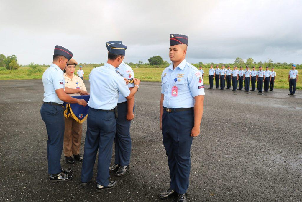 7 Personel Lanud D. Dumatubun Naik Pangkat