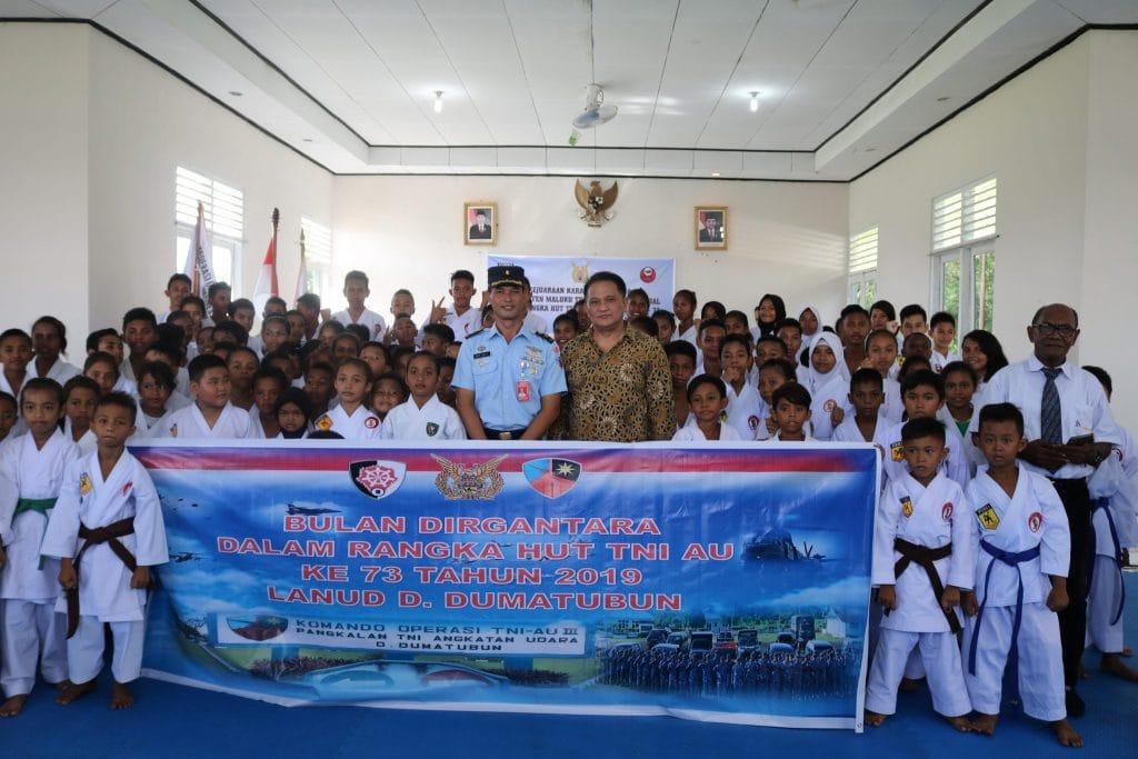 Lanud D. Dumatubun Gelar Kejuaraan Karate Antar Dojo Se–Kabupaten Maluku Tenggara dan Kota Tual