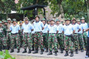 Lanud Iswahjudi Kirim Pasukan Bantu Pelaksanaan BST di Desa Nglandung