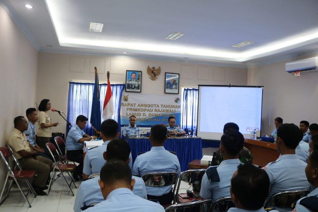 RAT Koperasi Rajawali Lanud D. Dumatubun Tahun Buku 2018