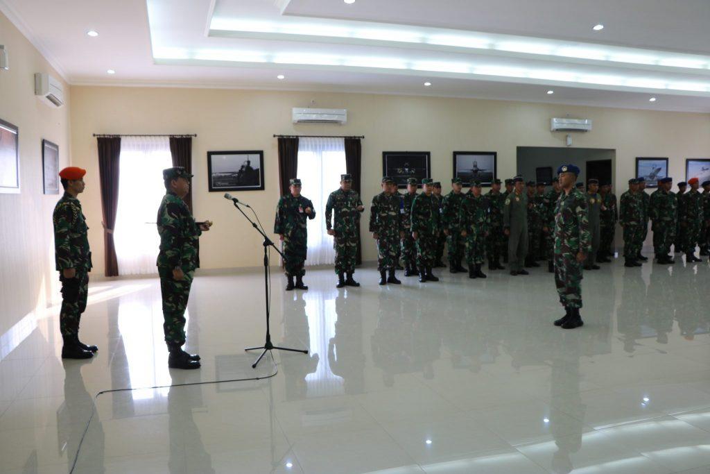 """Pangkoopsau II Buka Latihan Antar Satuan """"Sikatan Daya"""" di Lanud Iswahjudi"""