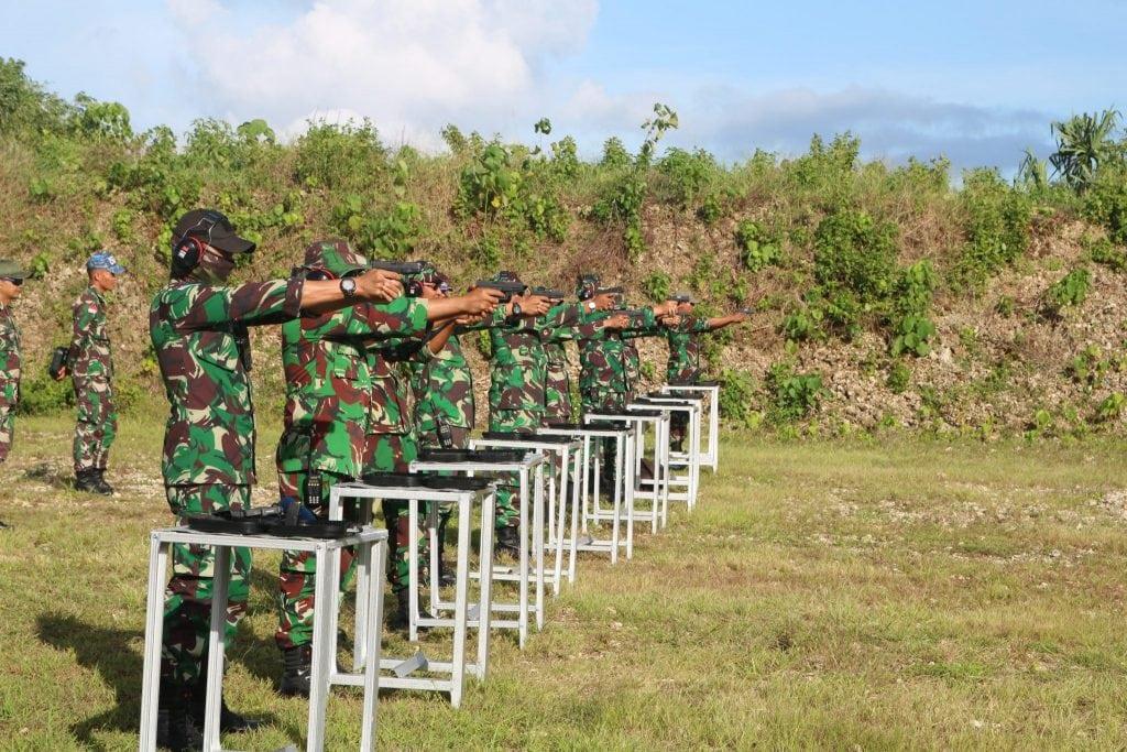 Lanud Dominicus Dumatubun Gelar Latihan Menembak 2019