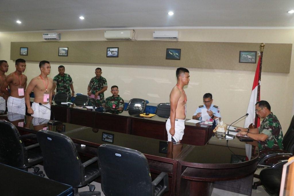 Danlanud Soewondo Pimpin Sidang Pantukhirda Casis Tamtama