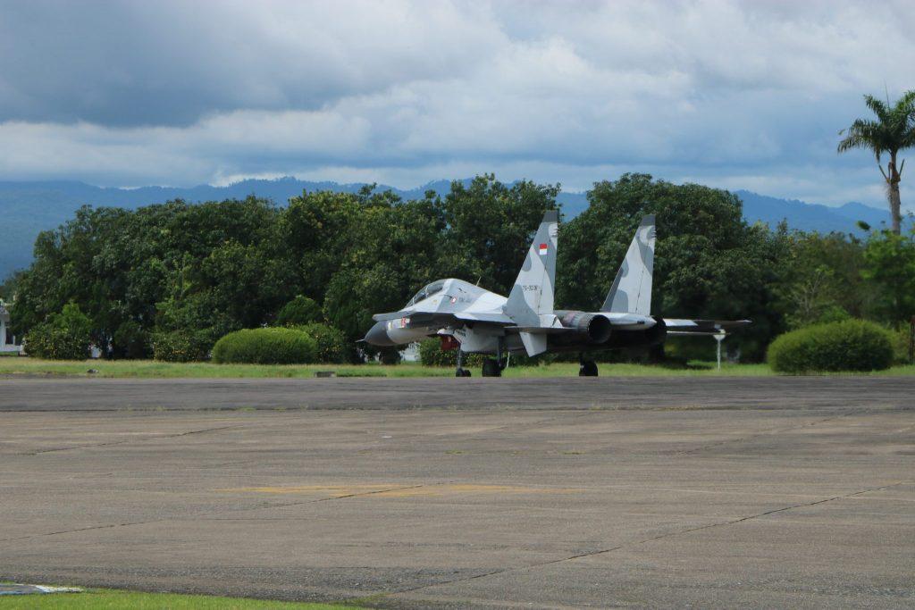 Pesawat Tempur Sukhoi SU-27/30 Ikuti Latihan Sikatan Daya 2019