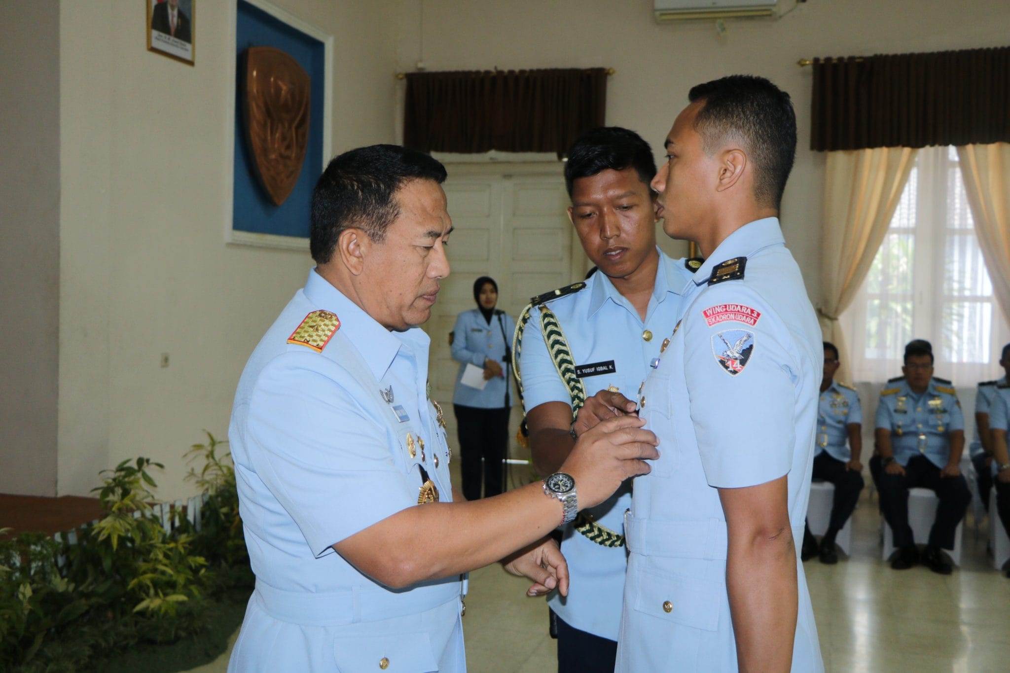 Pembukaan Sekolah Instruktur Penerbang TNI AU A-81