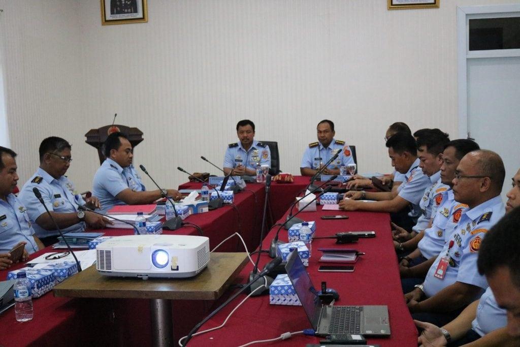 Entry Briefing Wasrikkap Itjenau di Kosekhanudnas II Makassar