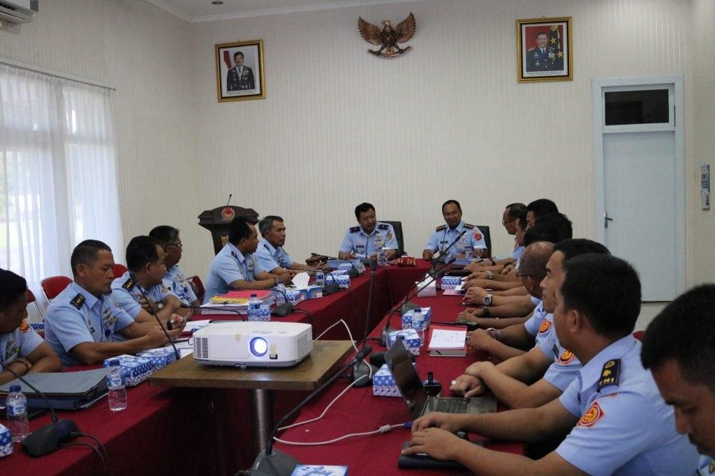 Exit Briefing Tim Wasrik Itjenau Di Kosekhanudnas II