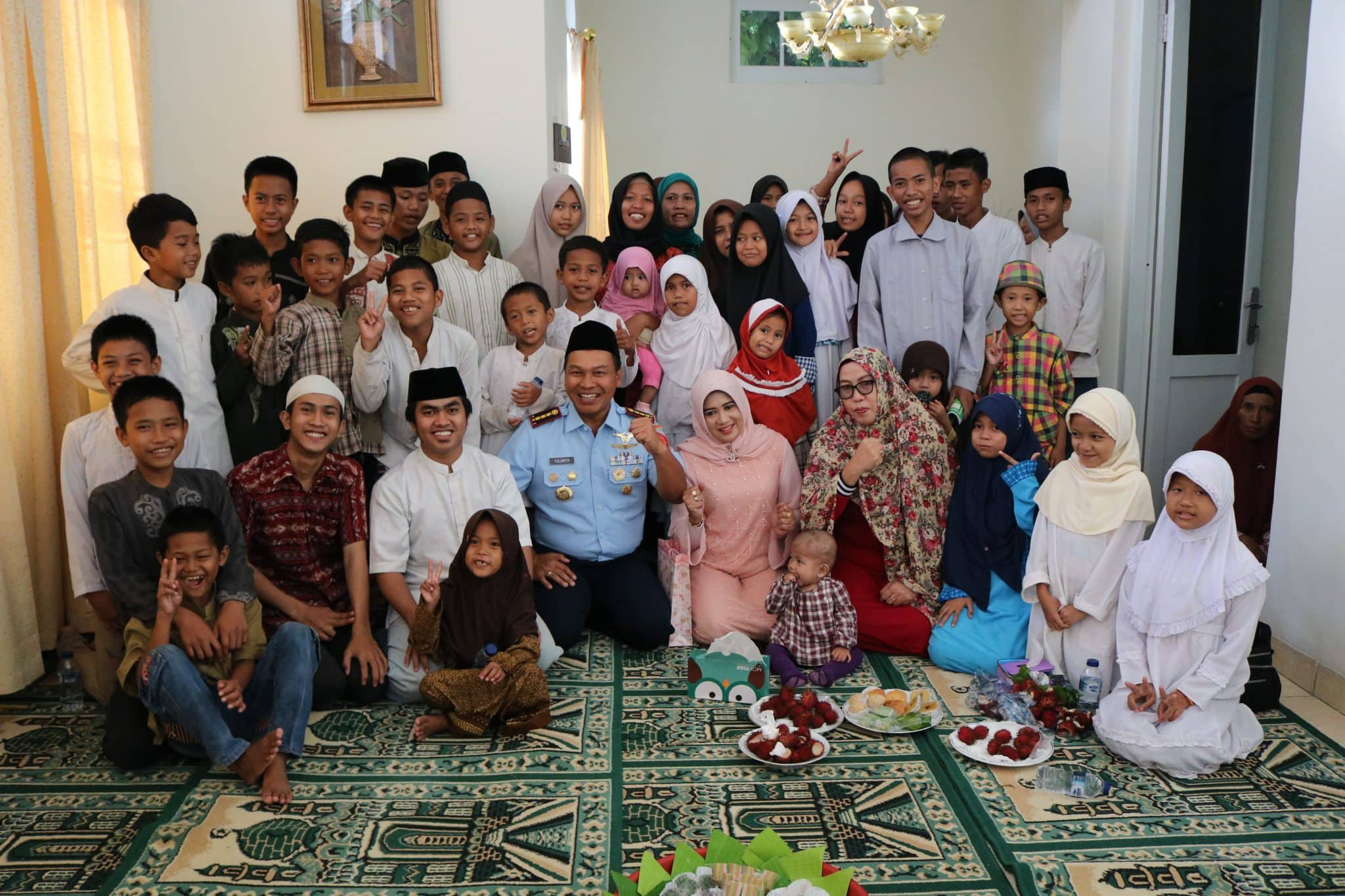 Pangkosekhanudnas II Do'a Bersama Anak Yatim