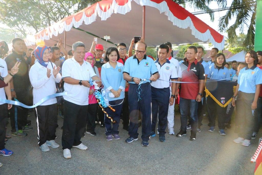 Launching Car Free Day Taman Dirgantara Lanud Supadio