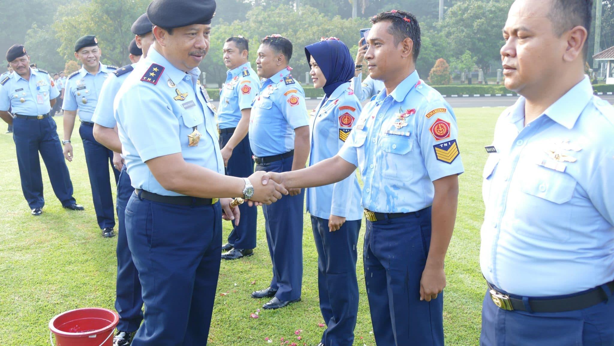 Pelantikan Kenaikan Pangkat 29 Personel Kohanudnas