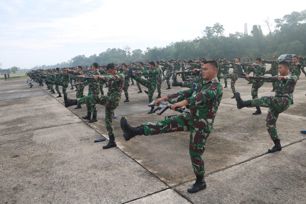 Danlanud Rsn :Minggu Militer Back To Basic Bagi Prajurit