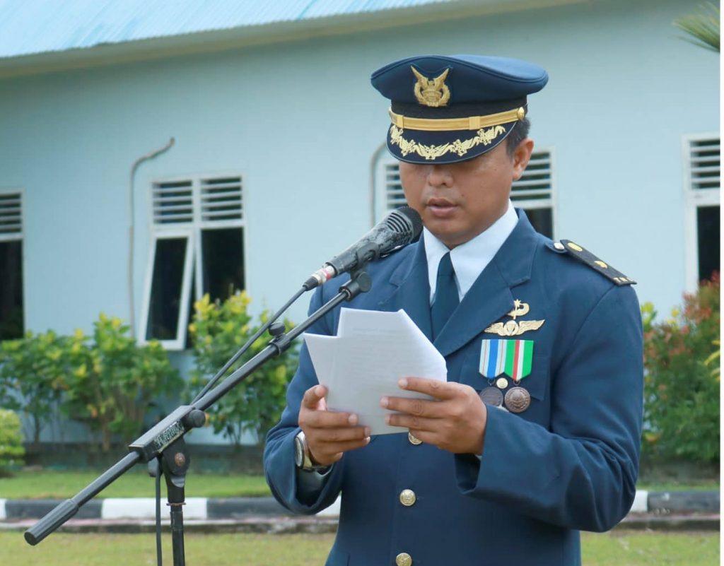 Peringatan ke-73 TNI AU di Lanud Iskandar