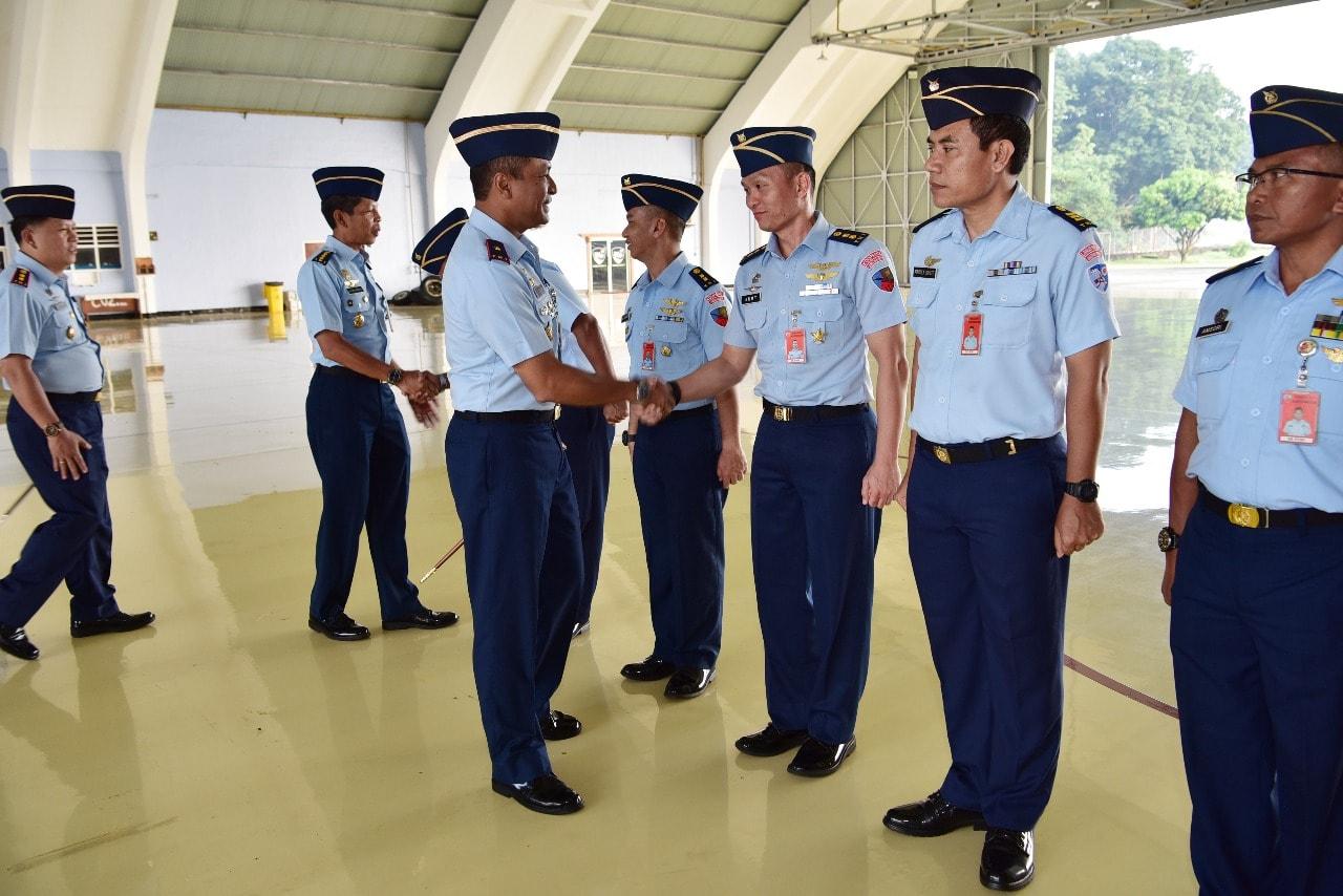 131 Personel Lanud Halim Perdanakusuma Naik Pangkat