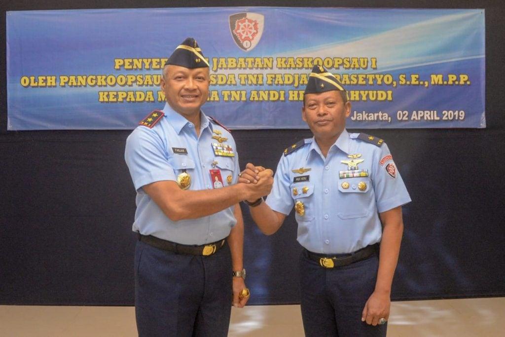 Marsma TNI Andi Heru Wahyudi Jabat Kaskoopsau I