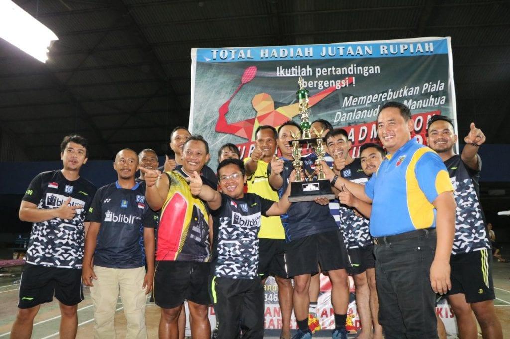 Penutupan Badminton Danlanud Cup V 2019