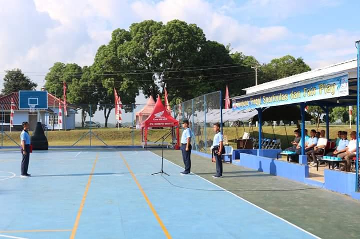 Komandan Lanud J.B. Soedirman Buka Kejuaran Bola Basket Putra Antar Pelajar se-Kabupaten Purbalingga