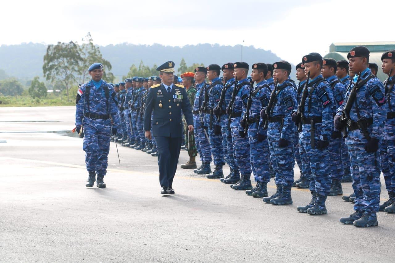 Upacara Peringatan HUT Ke 73 TNI AU di Biak