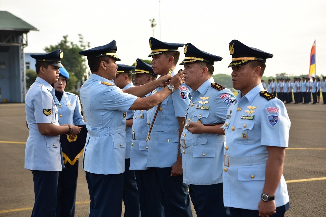Pimpin Sertijab Komandan Skadron, Danlanud Halim P. Tekankan Tiga Hal