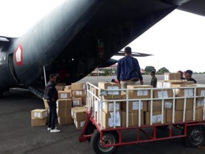 Penilaian Zona Merah di NTT Terselesaikan Berkat Angkatan Udara