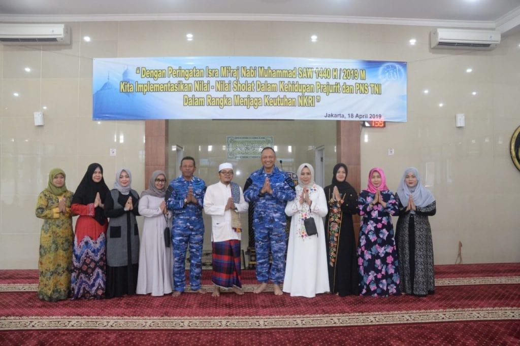 Pangkoopsau : Dengan hikmah Isra Mi'raj Diharapkan Dapat Memperteguh Sikap Istiqomah