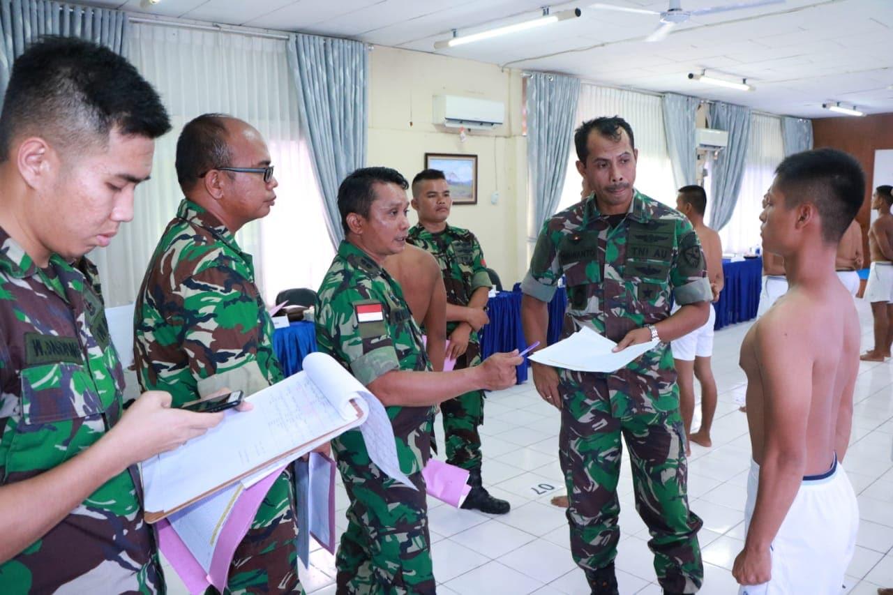 Komandan Lanud Sutan Sjahrir Pimpin Pantukirda Casis Tamtama PK Gelombang I T.A 2019
