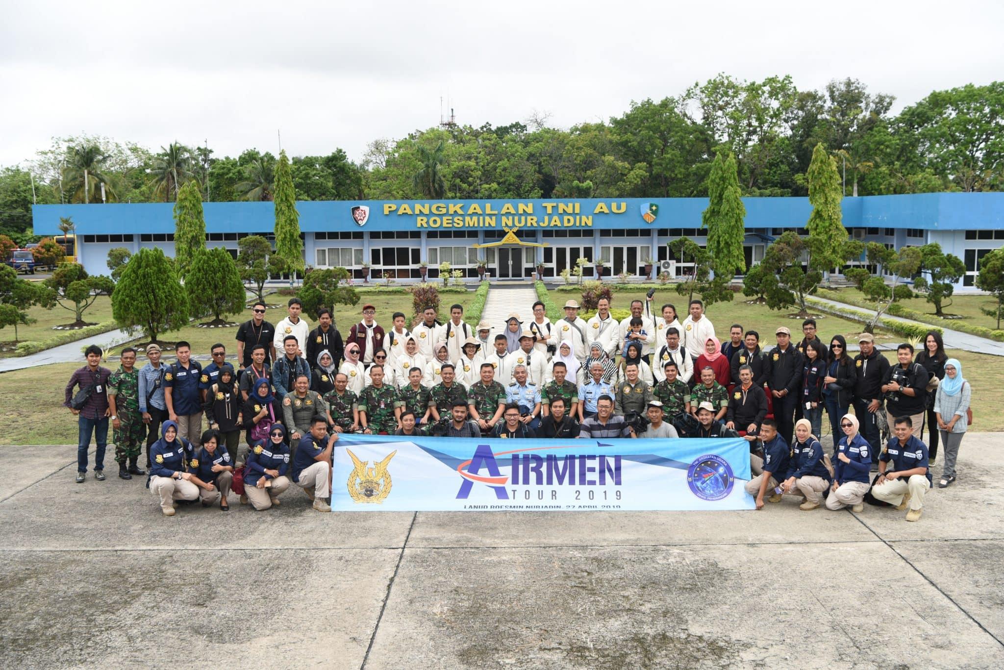 Airmen Tour 2019 Kunjungi Lanud Terbesar Di Sumatera