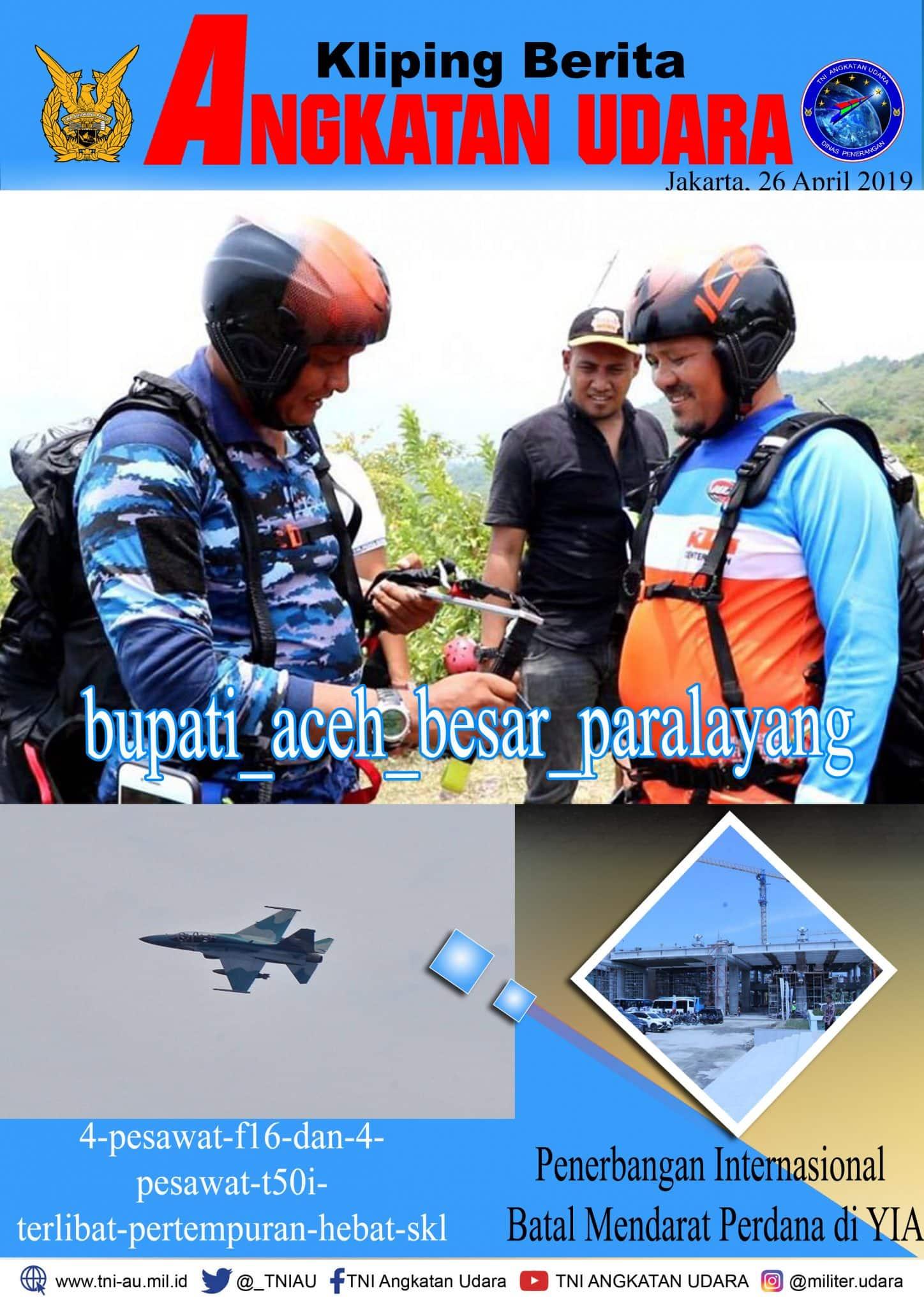 Kliping Berita Media 26 April 2019