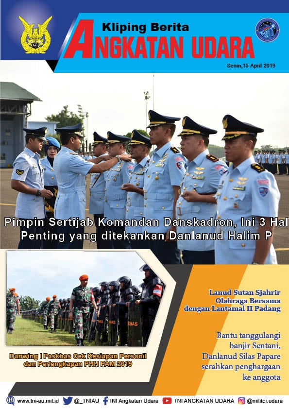 Kliping Berita Media 15 April 2019