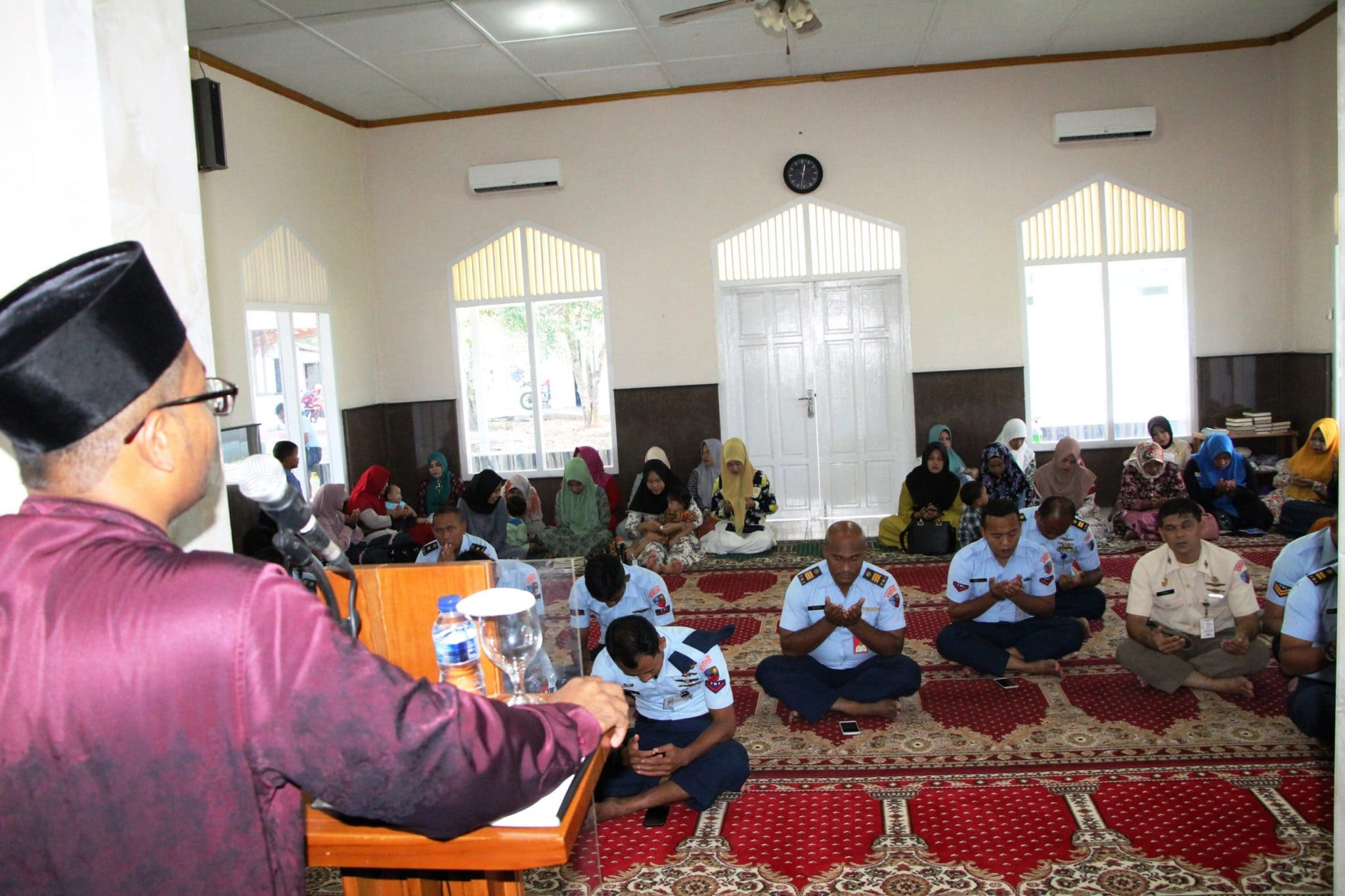 Doa Bersama dan Peringatan Isra Miraj di Lanud Sim