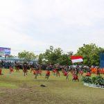 Danlanud Pimpin Upacara Peringatan Ke- 73 Di Lanud Yohanis Kapiyau Timika