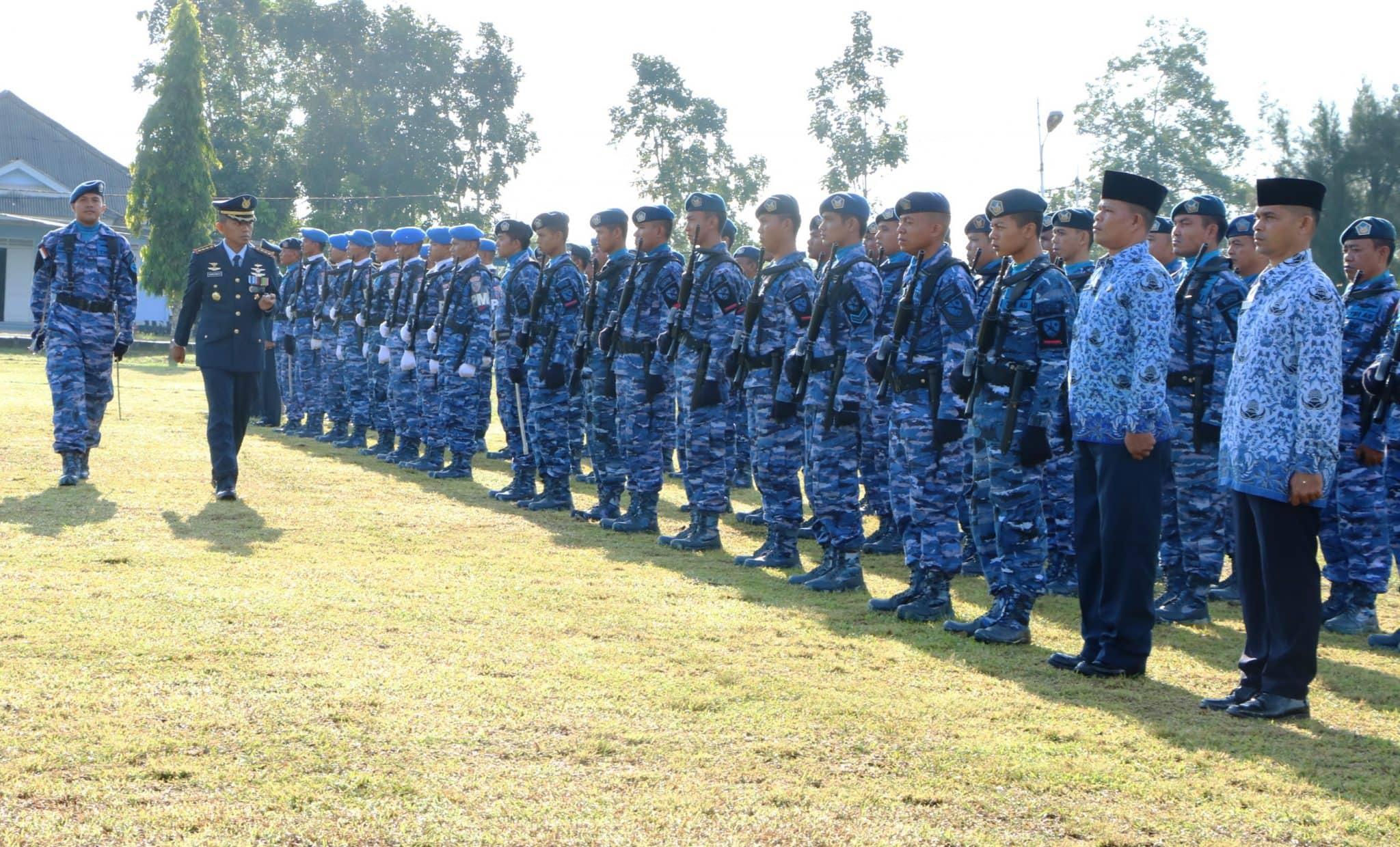 SECARA SEDERHANA, PERINGATAN HUT TNI AU KE-73 DI LANUD SIM