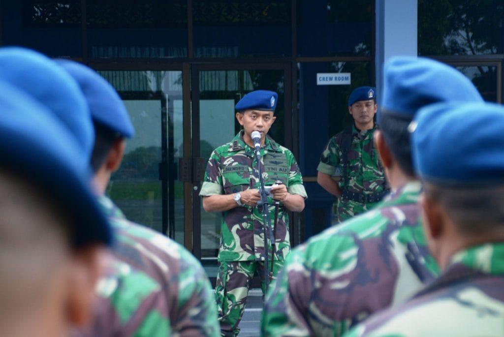 Jelang Pemilu 2019, Danlanud Sim Tegaskan Netralitas TNI