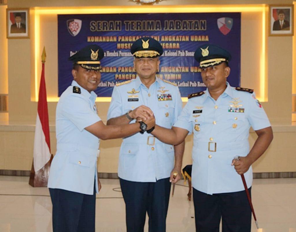 Letkol Pnb Ronal Menjabat Komandan Lanud Pangeran M. Bun Yamin