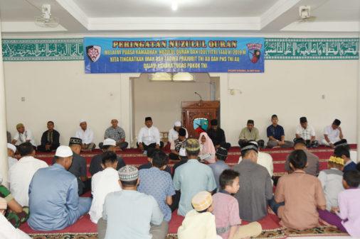 Peringatan Nuzulul Qur'an di Lanud BNY