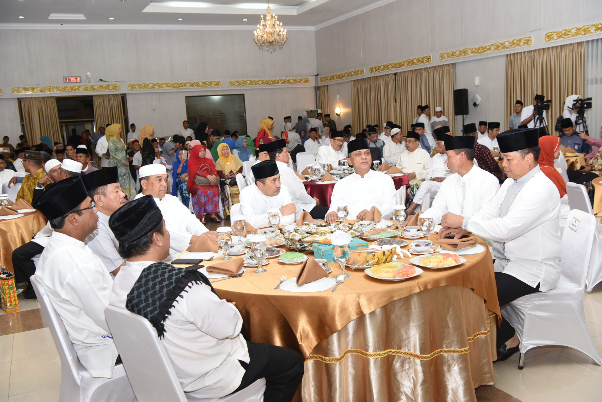 Danlanud Rsn Berbuka Bersama Pemprov Riau